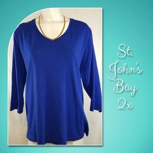 St. John's Bay Tops - St. John's Bay 2x